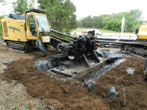 West Travis County Public Utility Agency, Directional Drill, Vermeer, WTCPUA 20 inch Transmission Main